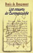 List otwarty do Europejczyków