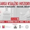 Zaproszenie na Targi Książki Historycznej (29.11-02.12.18)
