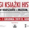 Zaproszenie na XXVIII Targi Książki Histroycznej