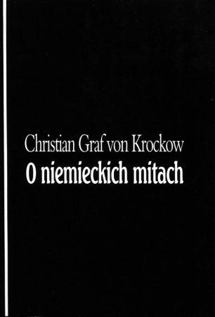 O niemieckich mitach (pożółkłe strony)